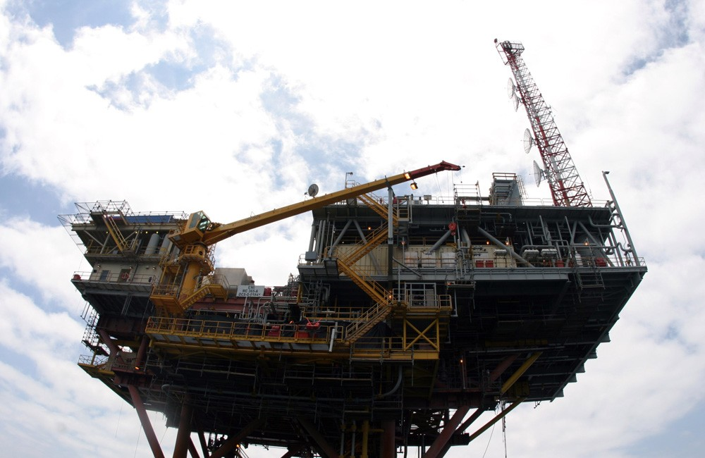 Gulf coast oil rig. Photo: NWFblogs