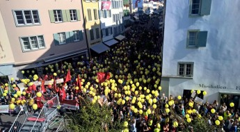 Demo in Liestal ©Adil Koller